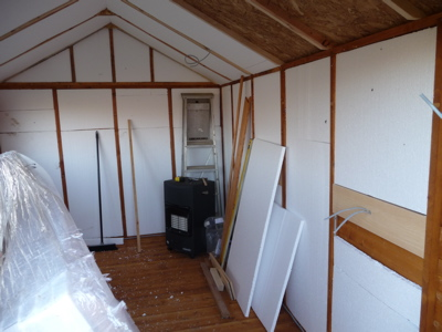 Shed - insulation