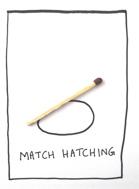 Match hatching