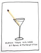 Twizzle stick
