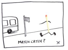 Match catch - bus