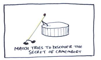 Camembert explorer