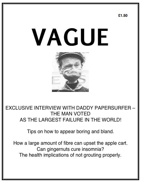 Cover of Vague